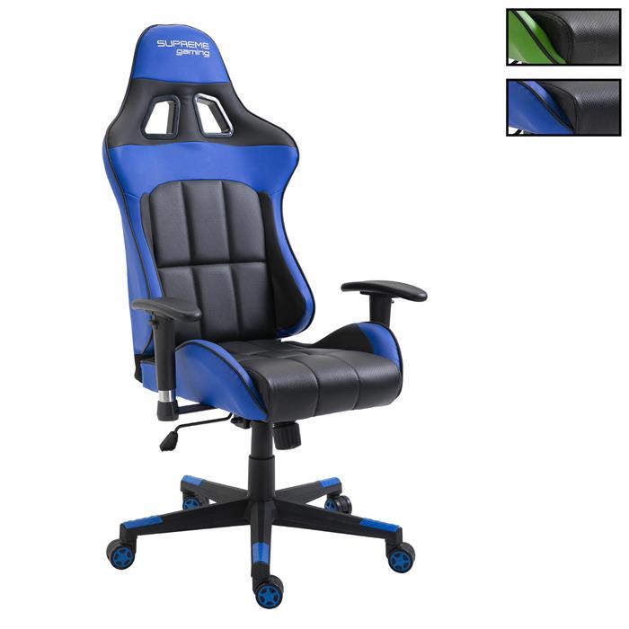 meilleur pas cher e7fa9 9c0c2 Chaise de bureau gaming CREW