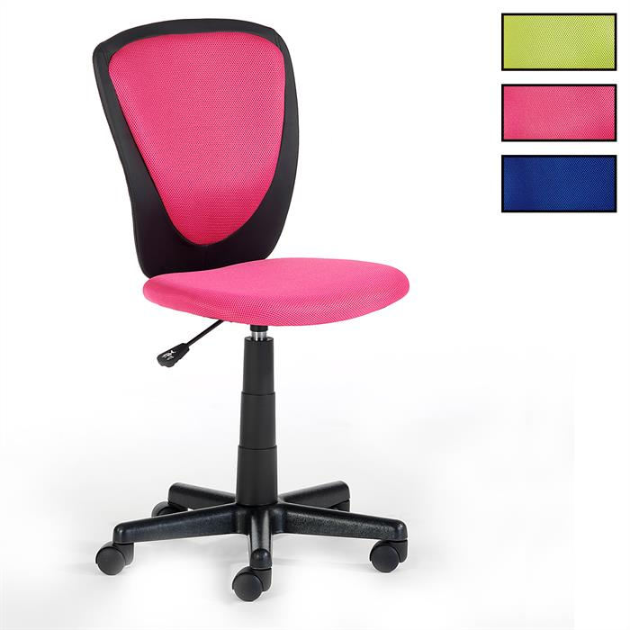 fauteuil de bureau pour enfant heino 4 coloris disponibles mobil meubles. Black Bedroom Furniture Sets. Home Design Ideas