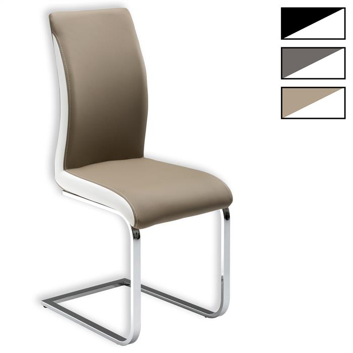 Lot de 4 chaises INDIRA, 3 coloris disponibles
