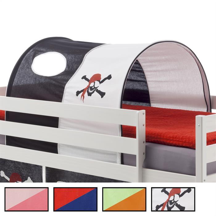 Tunnel MAX pour lit surélévé, 4 coloris disponibles
