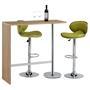 Table haute de bar RICARDO, décor chêne sonoma