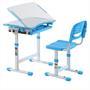 Ensemble bureau et chaise pour enfant ALUMNO, bleu