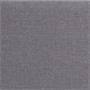 Lit futon simple NIZZA, 90 x 190 cm, avec sommier, revêtement en tissu gris