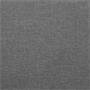 Lit double SAMUEL, 160 x 200 cm, avec sommier, revêtement en tissu gris