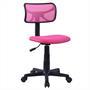 Chaise de bureau pour enfant MILAN, rose