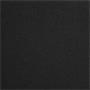 Lit double MATHIEU, 140 x 190 cm, capitonné avec sommier, revêtement en tissu noir